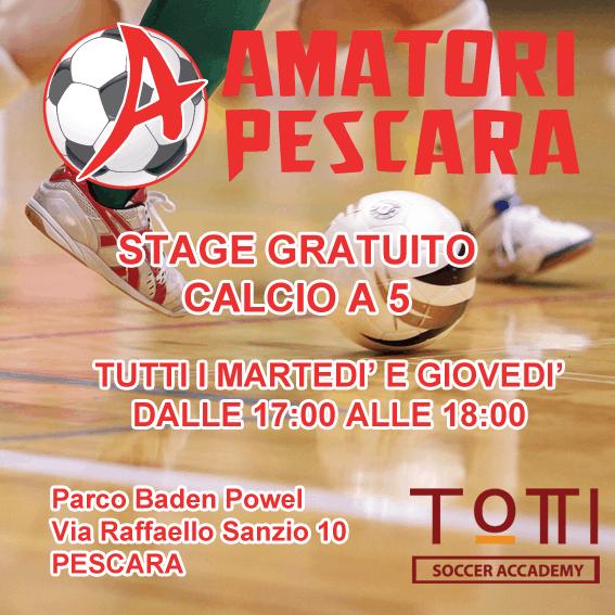Stage Giovanissimi Calcio a 5